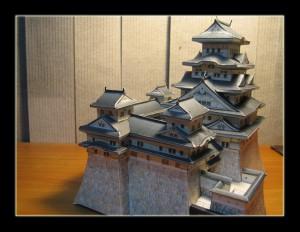 姬路城紙模型