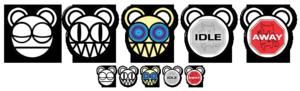 Radiohead logo Adium Dock Icon