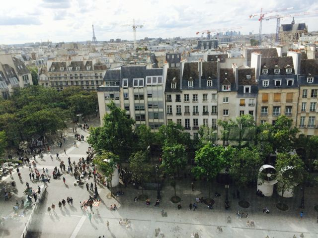 second trip to paris, france