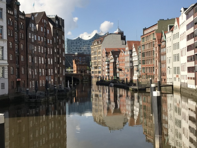 a trip to Hamburg, Germany